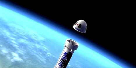 Blue Origin veut lancer les premiers vols touristiques dans l'espace pour 2018