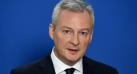 Bruno le Maire: une future taxe européenne « plus près de 2% que de 6% » sur les ventes des GAFA