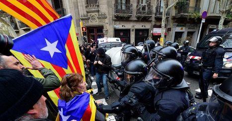 Carles Puigdemont devant un juge en Allemagne, violences en Catalogne
