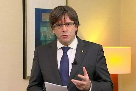 Catalogne : 8 ministres en prison, mandat d'arrêt contre Puigdemont