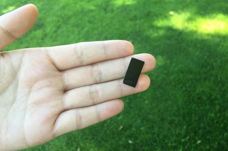 Ce minuscule objet purifie l'eau à 99,999% de ses bactéries