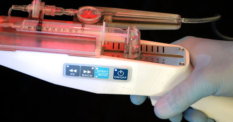 Ce pistolet à cellules souches régénère la peau des grands brûlés en quelques jours