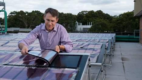 Ces panneaux solaires imprimables ont tout pour démocratiser le recours aux énergies renouvelables