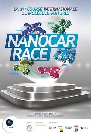 CNRS : NanoCar Race, la première course internationale de molécules-voitures