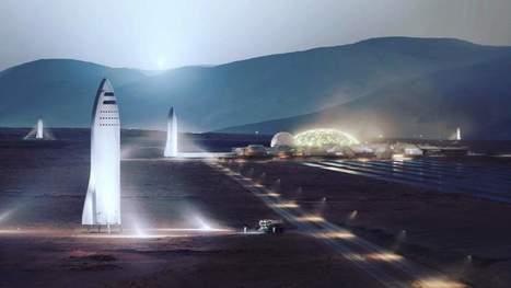 Comment Elon Musk compte coloniser la planète Mars dès 2024 avec une nouvelle super-fusée réutilisable