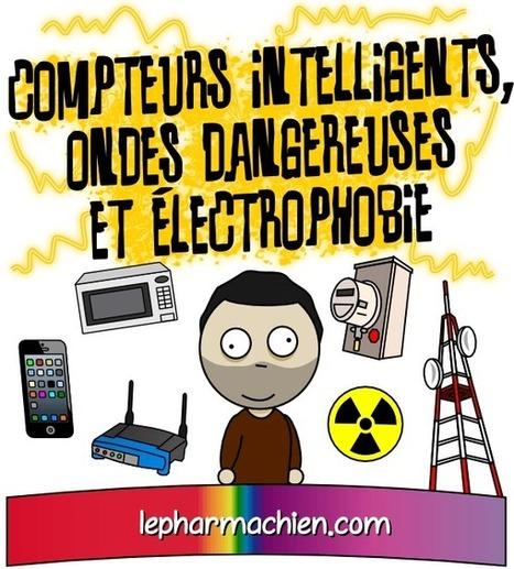 Compteurs intelligents, ondes dangereuses et électrophobie – Le Pharmachien