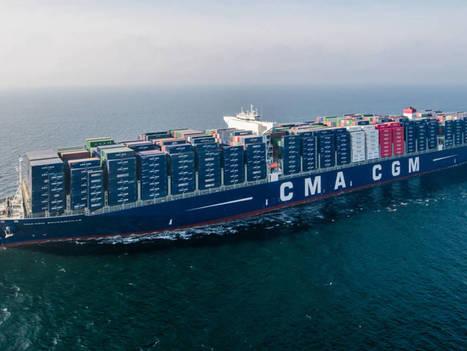 Découvrez le «Bougainville» : un milliard d'euros de marchandises à bord !