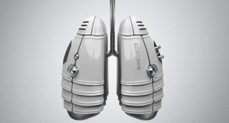 Des chercheurs développent un poumon artificiel portatif