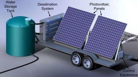 Des chercheurs inventent une usine mobile à énergie solaire pour dessaler l'eau