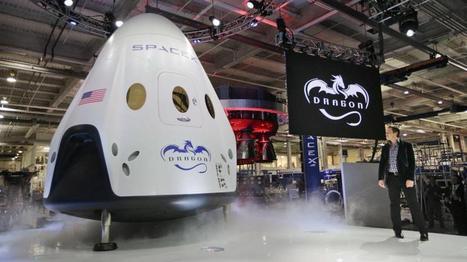 Dragon V2, le nouveau vaisseau spatial de Space X qui peut se poser «comme un hélicoptère».