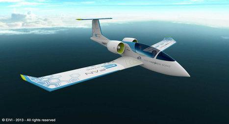E-Fan, l'avion-école électrique d'Airbus a effectué son premier vol officiel