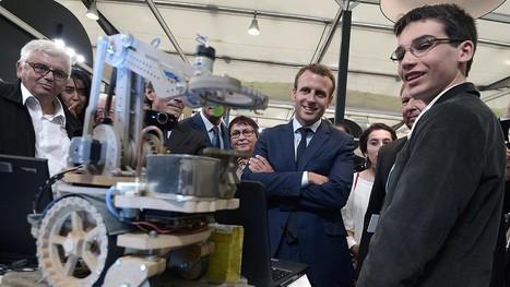 Eliott, Français de 14 ans primé lors de la Google Science Fair pour son «Bot2Karot»