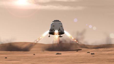 Elon Musk revoit les plans d'exploration martienne de SpaceX à la baisse
