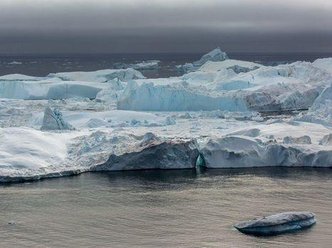 En Arctique, une source de méthane naturelle capture le CO2