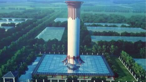 En Chine, le «plus grand purificateur d'air au monde» commencerait à faire ses preuves