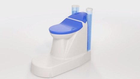 Enfin des toilettes modernes qui ne gaspillent pas l'eau potable ! Démonstration.