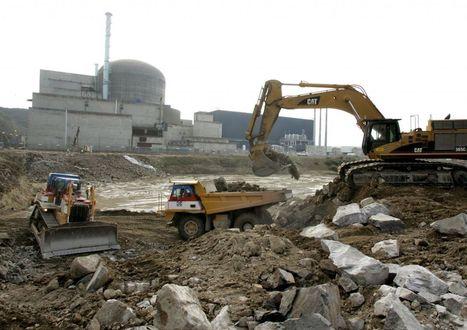 EPR de Flamanville : découverte de déchets enfouis depuis trente ans