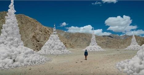 Himalaya : celui qui crée des glaciers artificiels