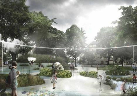 Il capte l'eau et la chaleur : le premier parc «résilient» inauguré à Copenhague