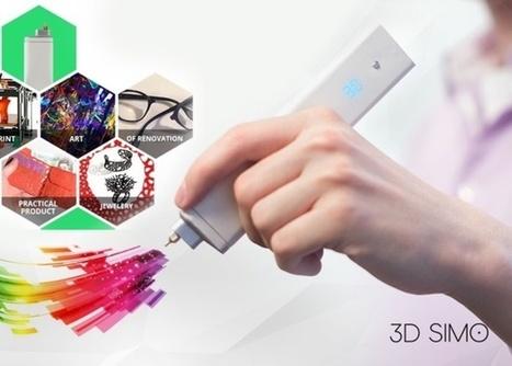 Il dessine en 3D, soude, découpe, pyrograve : le stylo dont rêvaient les makers