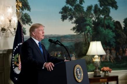 Iran: les principaux points du discours de Donald Trump