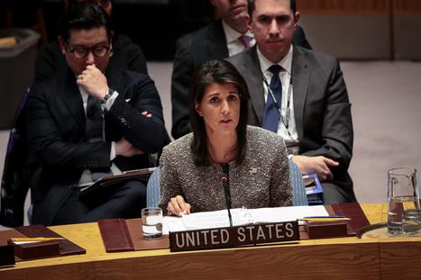 Jérusalem : isolés, les États-Unis mettent leur veto à une résolution de l'ONU