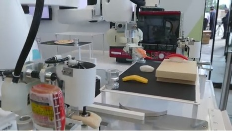 Kawasaki crée un robot qui prépare les sushis