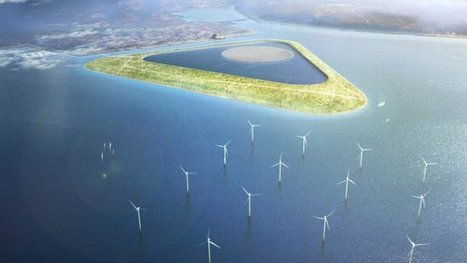 La Belgique projette d'édifier une île pour produire de l'électricité – notre-planete.info