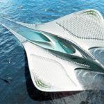 La Cité des Mériens, le projet fascinant et 100% autonome d'un architecte français