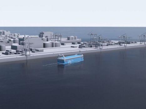 La Norvège va construire le premier navire porte containers électrique et dronisé