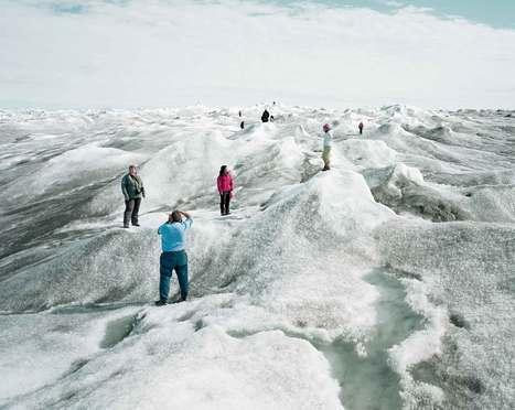 La saleté fait fondre plus rapidement la glace au Groenland