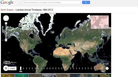 La Terre vue du ciel, de 1984 à nos jours