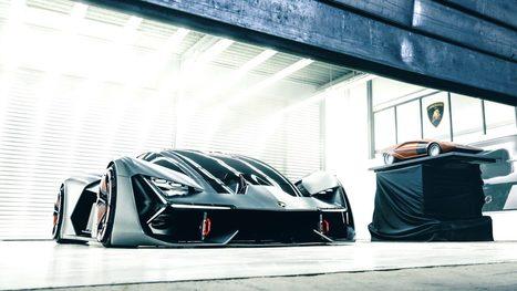 Lamborghini rêve avec sa Terzo Millennio, un concept 100 % électrique… sans batterie