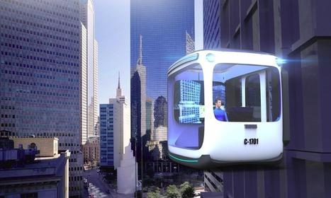 L'ascenseur du futur est un véhicule magnétique… et habitable !