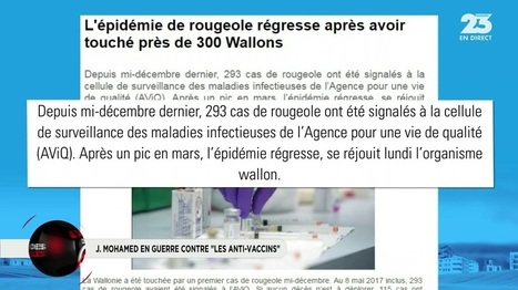 L'avis des GG : Jimmy Mohamed en guerre contre « les anti-vaccins »