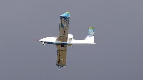 L'E-fan, premier avion électrique de série, traverse la Manche 106 ans après Blériot