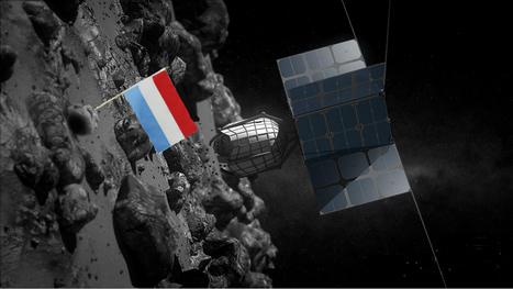 Le Luxembourg dans l'espace