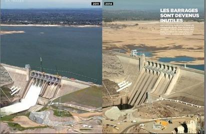 Le rêve californien douché par la sécheresse