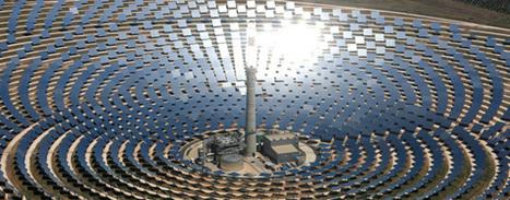 Le solaire thermique s'affranchit de l'intermittence grâce aux sels fondus