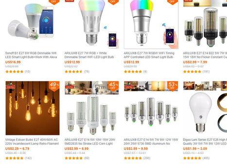 L'éclairage LED permet toutes les fantaisies déco