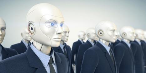 Les robots font maintenant le travail d'un banquier qui gagnait 300 K€ /an chez GoldmanSachs
