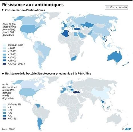 L'ONU met en garde contre la hausse de la résistance aux antimicrobiens