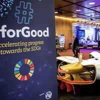 Lutte contre la faim et crise climatique au menu du Sommet sur l'intelligence artificielle