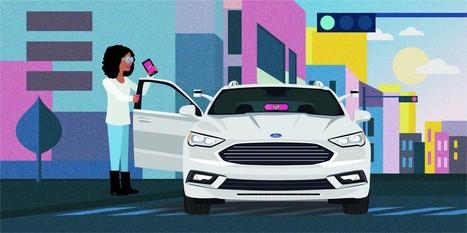 Lyft travaille sur la voiture 100 % autonome et ne veut plus de chauffeurs d'ici 2025
