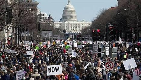 Marée humaine aux États-Unis contre les armes à feu