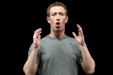 Mark Zuckerberg ? Un enfant au volant d'un bulldozer !