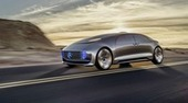 Mercedes-Benz : sa voiture autonome F015 circule