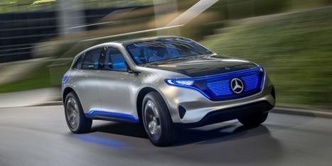 Mercedes ouvre le front contre Tesla avec son éco-système électrique