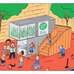 Petite BD sympa sur les fermes urbaines en aquaponie