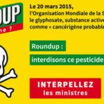 PÉTITION – Roundup : interdisons ce pesticide maintenant !